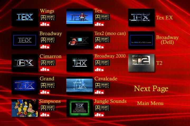 Surround sound demonstration DVD vol2
