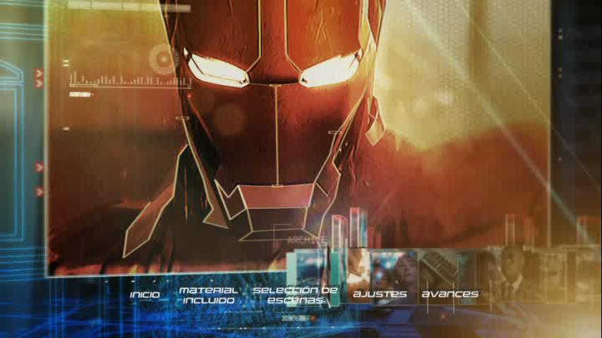 Iron Man Dvd Menu