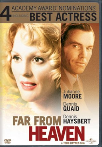 an analysis of the movie far from heaven Far from heaven: a view of duality in racial and sexual preferences, is a critical reading of the 2002 film far from heaven staring julianne moore, dennis quaid and dennis haysbert the.