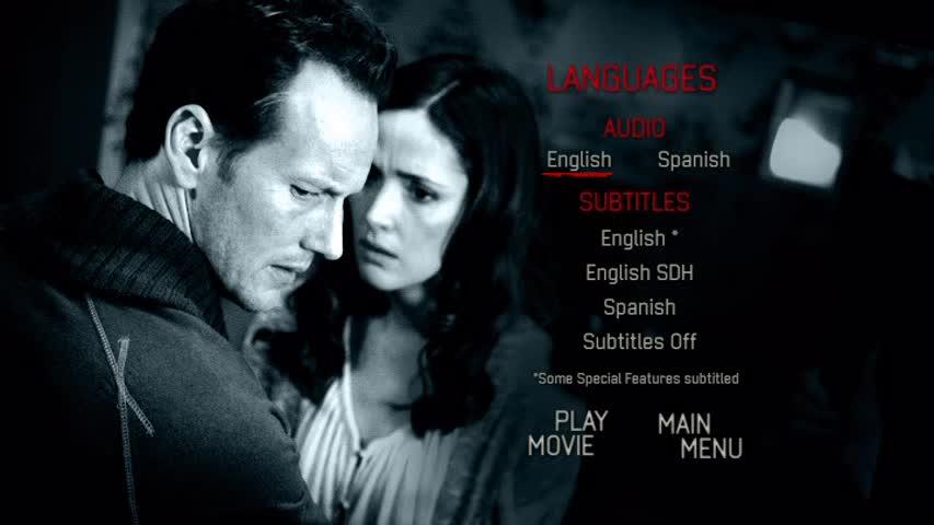 insidious english movie