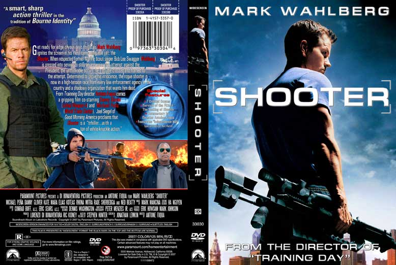 DVD Covers: Shooter DVD Cover