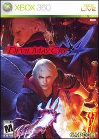 Devil May Cry 4 (Xbox360 DVD-R)