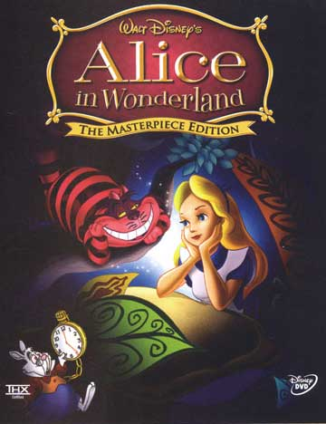 alice in wonderland cartoon cards. Alice In Wonderland (Cartoon)