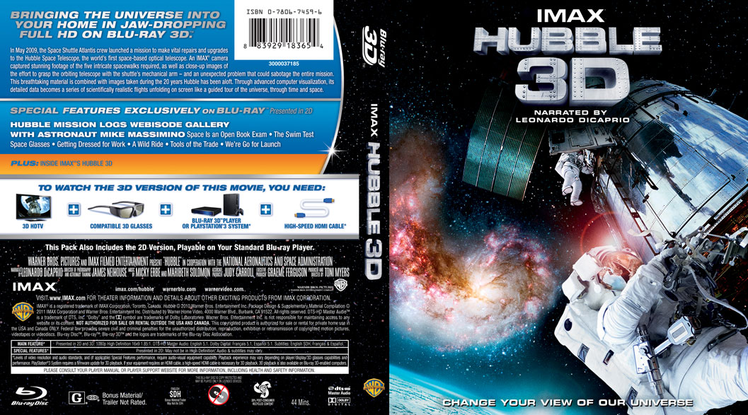 cover blu ray imax hubble - photo #11