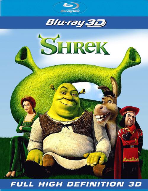 Şrek 1 - Shrek 1 2001 3D (1080p Bluray H-SBS) DUAL TR-EN - 3D Film indir