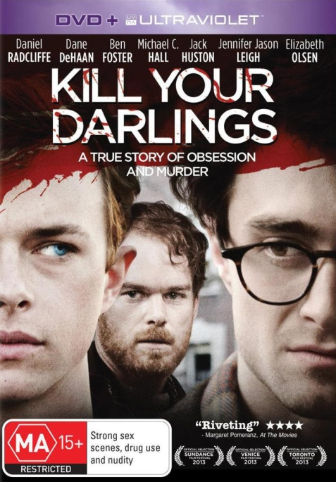 Kill Your Darlings Dvd Cover