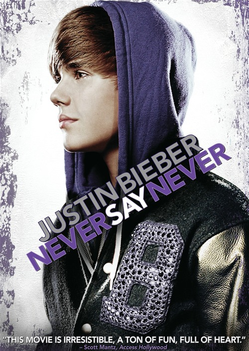 justin bieber never say never dvd cover. Justin Bieber: Never Say Never