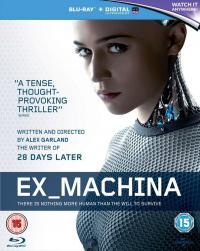 Ex Machina (2015)(Blu-ray)