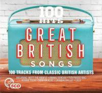 100 Hits - Great British Songs (5CD)(2017)(Music CD)