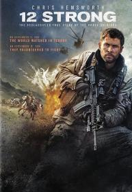 12 Strong (2018)(DVD-R)