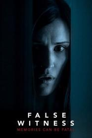False Witness (2019)(DVD-R)