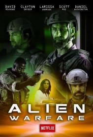 Alien Warfare (2019)(DVD-R)
