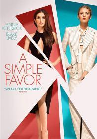 A Simple Favor (2018)(DVD-R)