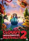Cloudy with a Chance of Meatballs 2 (2013)(DVD-R)