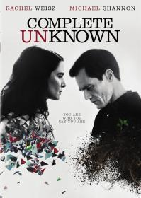 Complete Unknown (2019)(DVD-R)