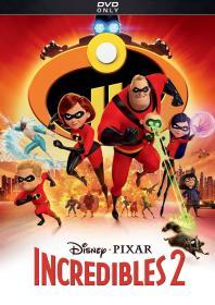 Incredibles 2 (2018)(DVD-R)