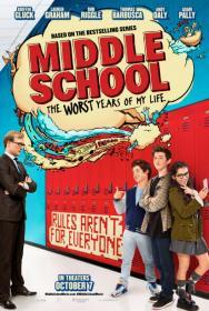 Middle School: The Worst Years of My Life (2016)(DVD-R)