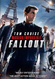 Mission: Impossible - Fallout (2018)(DVD-R)