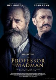 The Professor and the Madman (2019)(DVD-R)