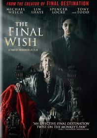 The Final Wish (2019)(DVD-R)