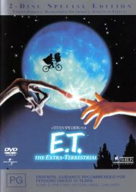 E.T. The Extra-Terrestrial (1982)(Deluxe)(2 Disc)(DVD-R)