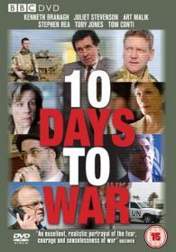 10 Days To War (2009)(DVD-R)