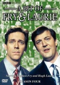 A Bit Of Fry and Laurie - Series 4 (DVD-R)