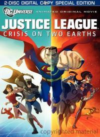 Justice League - Crisis on Two Earths (Deluxe) (DVD-R)