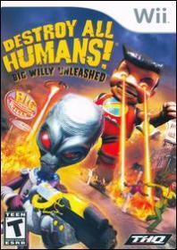Destroy All Humans! Big Willy Unleashed (Wii DVD-R)