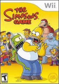 The Simpsons Game (Wii DVD-R)