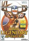 Cabela's Legendary Adventures (Wii DVD-R)