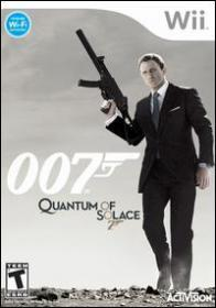 James Bond 007: Quantum of Solace (Wii DVD-R)