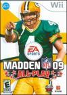 Madden NFL 09: All-Play (Wii DVD-R)