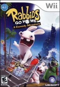 Rabbids Go Home (Wii DVD-R)